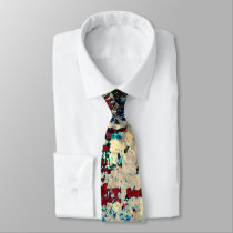 Color me now! neck tie