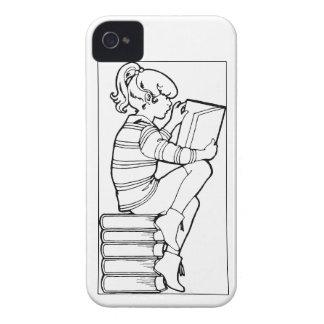 Color Me Reading iPhone 4 Case-Mate Case