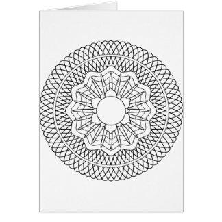 Color Me Rosette (envelopes included) Card