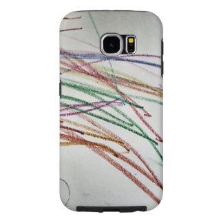 Color Me Scribbles Samsung Galaxy S6 Case