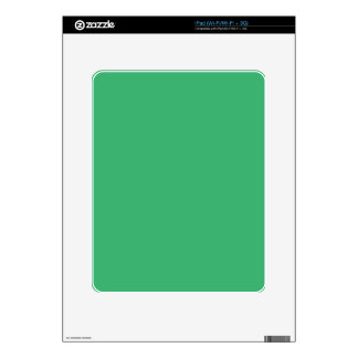 color medium sea green decal for iPad