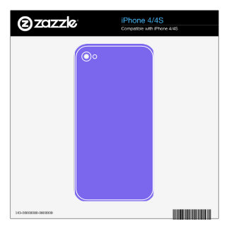 color medium slate blue decals for iPhone 4