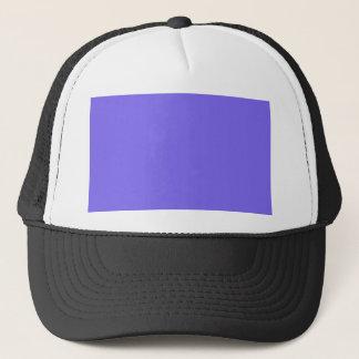 color medium slate blue trucker hat