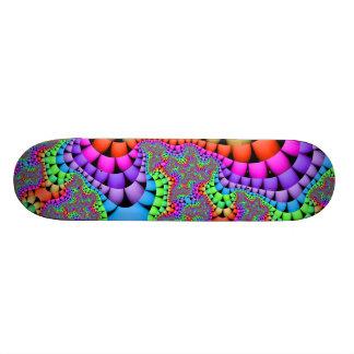 Color Medley Fractal Skateboard