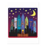 Color mega del horizonte de Atlanta Postal