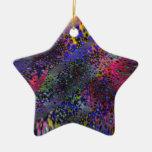 Color Melée Star Ornament