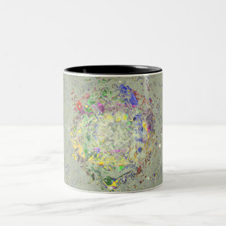 Color Melt Two-Tone Coffee Mug