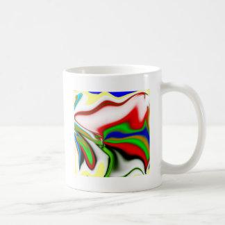 color mesh coffee mug