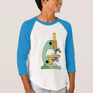 COLOR MICROSCOPE Kids Raglan Shirt