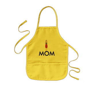 COLOR MOM CHARACTER APRON