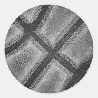 Color monocromático del personalizado del pegatina redonda