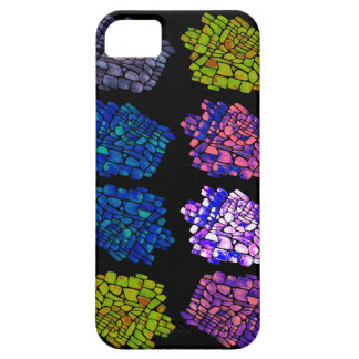 color mosaic black iPhone SE/5/5s case