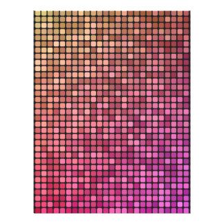 Color mosaic letterhead