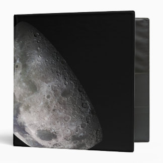 Color mosaic of the Earth s moon Vinyl Binder