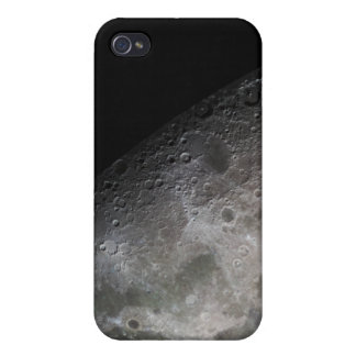 Color mosaic of the Earth's moon iPhone 4 Covers