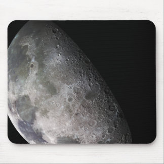 Color mosaic of the Earth's moon Mouse Pad