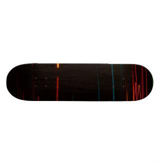 Color Motion Lights Skateboard Deck