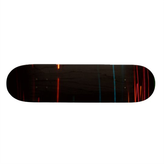 Color Motion Lights Skateboard Deck
