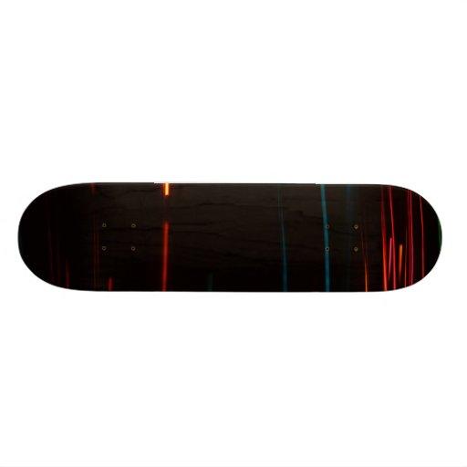 Color Motion Lights Skateboard Decks