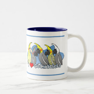 Color Mutations Cockatiel Mug