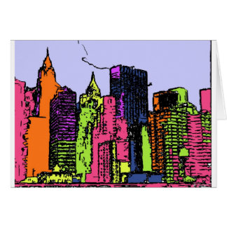 Color my City (NYC) Card