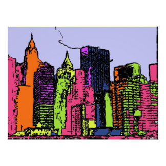 Color My City Poster