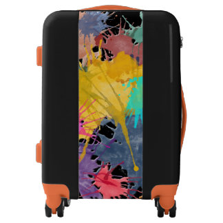 Color my Life splashes + your backgr. & ideas Luggage
