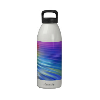 Color my life with joy water bottle
