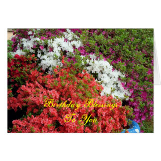 Color my World, Birthday BlessingsTo You Card