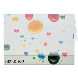 Color My World Bright Paint Drops Card