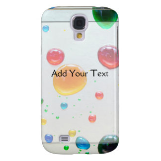 Color My World Bright Paint Drops Galaxy S4 Covers