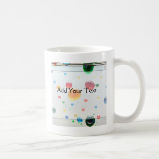 Color My World Bright Paint Drops Coffee Mug