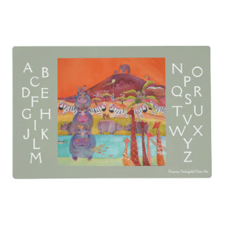 """""""Color My World"""" Placemat Laminated Placemat"""