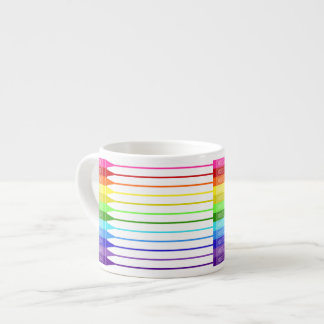 Color My World Rainbow Crayons Espresso Cup