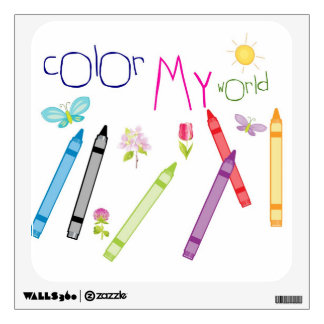 Color My World Wall Decals