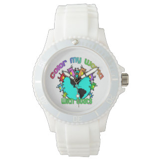 Color my World with Goats Wristwatch