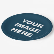 COLOR NAVY BLUE.png 9 Inch Paper Plate