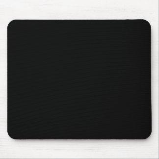 Color negro sólido 000000 del Web del fondo Alfombrillas De Raton