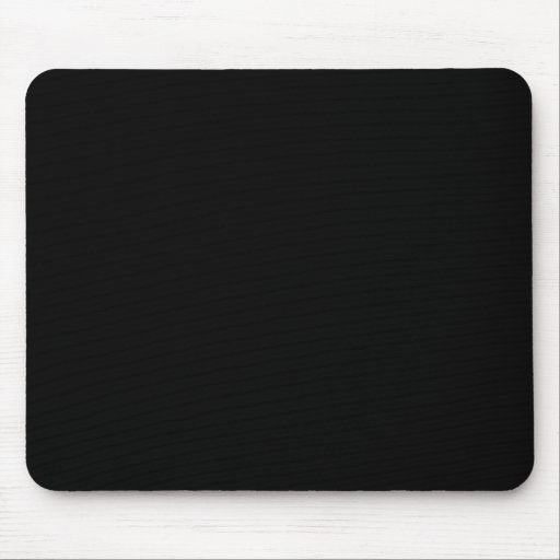 Color negro sólido 000000 del Web del fondo Tapete De Ratones