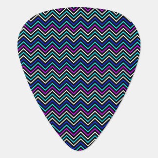 Color Neon Chevron Photo Design Guitar Pic Guitar Pick