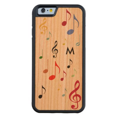 color notes, music carved® cherry iPhone 6 bumper case