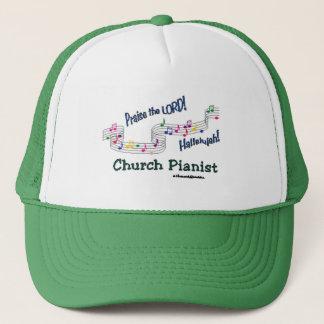 Color Notes Pianist Trucker Hat