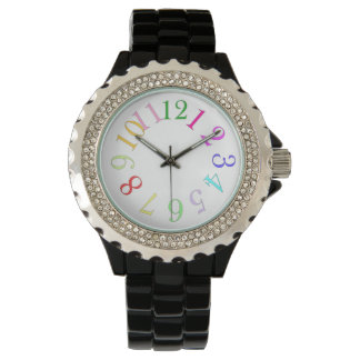 Color Number Wrist Watches
