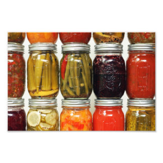 Color of Canning Photo Print