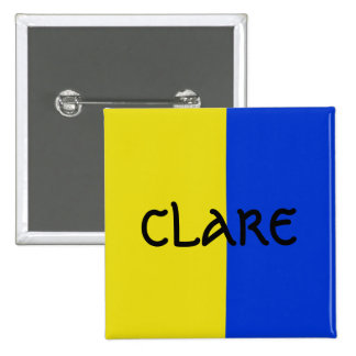 Color Of Claire Badge pin