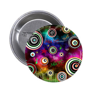 Color Of Music 2 Inch Round Button