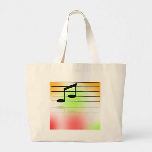 Color of Music Jumbo Tote Bag