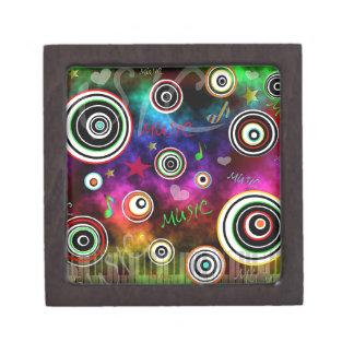 Color Of Music Keepsake Box