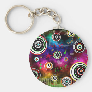 Color Of Music Keychain