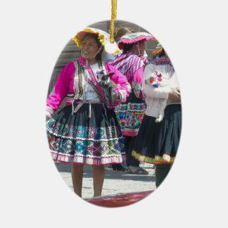 Color of Tradition Ceramic Ornament